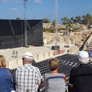 Tours in Israel: Theater Caesarea